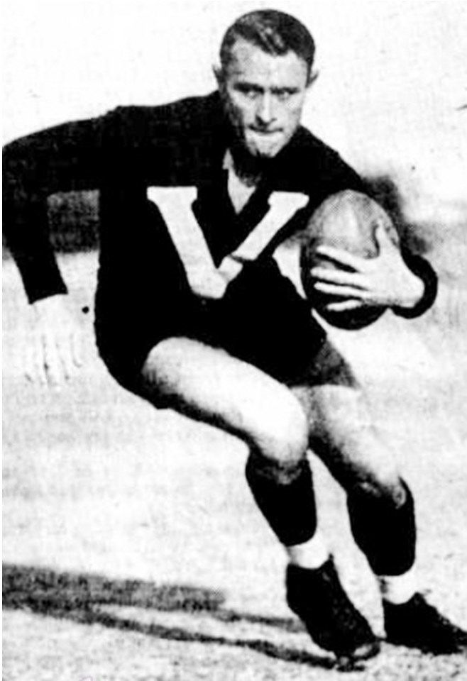 Legend - Haydn Bunton (Fitzroy, Subiaco, Port Adelaide). Games – 208 Fitz 119, Sub 72, PA 17. Champion rover through the Depression years. A brilliant runner and ball-winner.