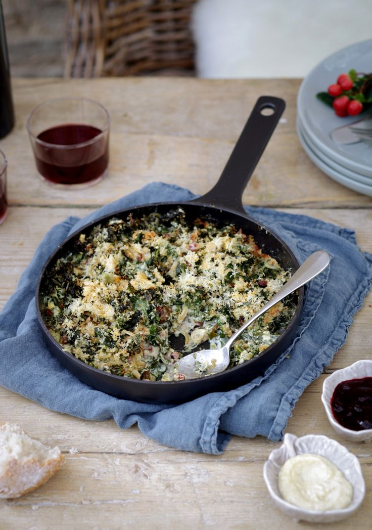 A recipe to warm and comfort in the winter months and one that heroes the abundance of iron-rich, deep green cavolo nero growing in our organic Market Garden. Creamy and slightly indulgent, it is delicious served alongside tender turkey on Christmas day with crisp golden roast potatoes. It would also be delicious alongside fillet of …