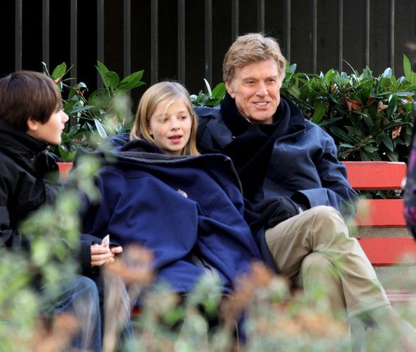 Actor Robert Redford films scenes for 'The Company You Keep' at the Vancouver…
