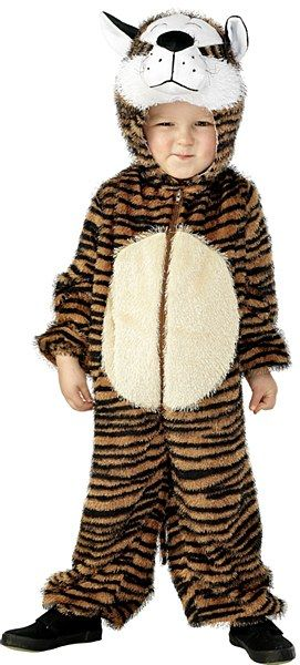 Kids Tiger Costume  Become the cutest and fearsome cat in all the neighbourhood when you don our adorable Tiger Costume. These Tiger Fancy Dress Costumes are guaranteed to keep your little cubs nice and warm. Your little one will be ready for any adventure, watch him scamper his way into everyone's heart.