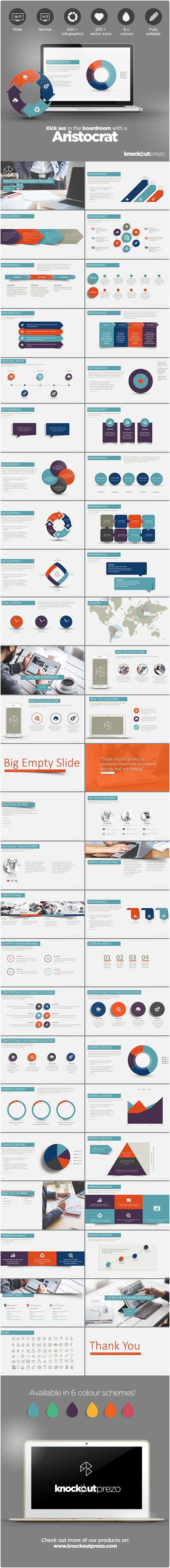 Aristocrat PowerPoint Template - Business PowerPoint Templates