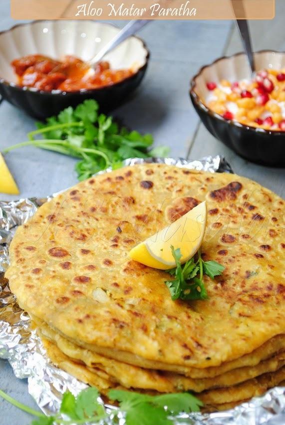 Aloo Paratha : Potato flat bread #paratha