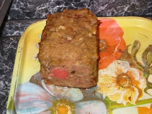 sekaná z pekárny - recept pro domácí pekárnu