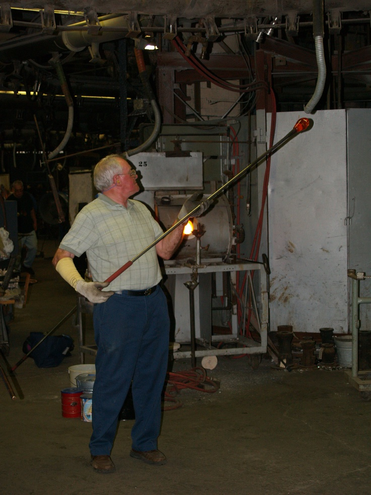 Glass Blowing In Blackburn Virginia Scenes