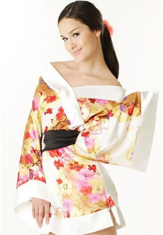 Kimono Girl Costume/Robes