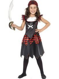 Meisjes Kostuum Piraat