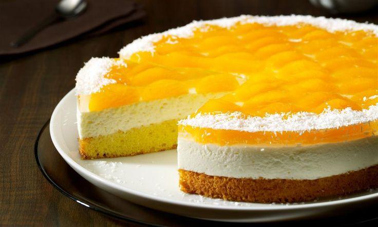 Mandarinen-Kokos-Torte Rezept   Dr. Oetker