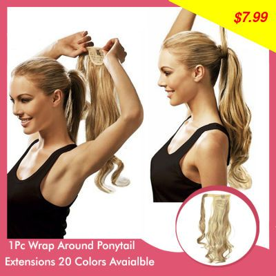 This item is now available in our shop. Sexy Fashion Curly Synthetic Wrap Around Ponytail  Ponytails Hairpiece Hair Extension Girls Women  Xmax Gifts Stylish P002 - US $7.99 http://mobileshop1.com/products/sexy-fashion-curly-synthetic-wrap-around-ponytail-ponytails-hairpiece-hair-extension-girls-women-xmax-gifts-stylish-p002/