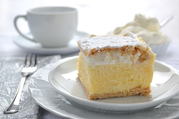 Try to guess why is Kremsnita (cream slice) the most popular cake dessert in Croatia? Print KREMSNITE (Custard Slices Recipe) Serves: 20 Ingredients 2 (500 g or 1 lb) puff pastry sheets, baked FILLING: 200 g cornstarch 9 eggs, separated 12 Tbsp sugar 2 tsp vanilla 2 Tbsp rum 1 liter (4 cups) milk 1 [...]