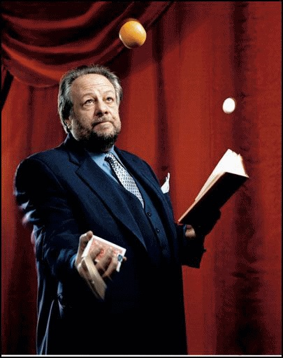 Magic: Master of Cards and manipulation. Ricky Jay