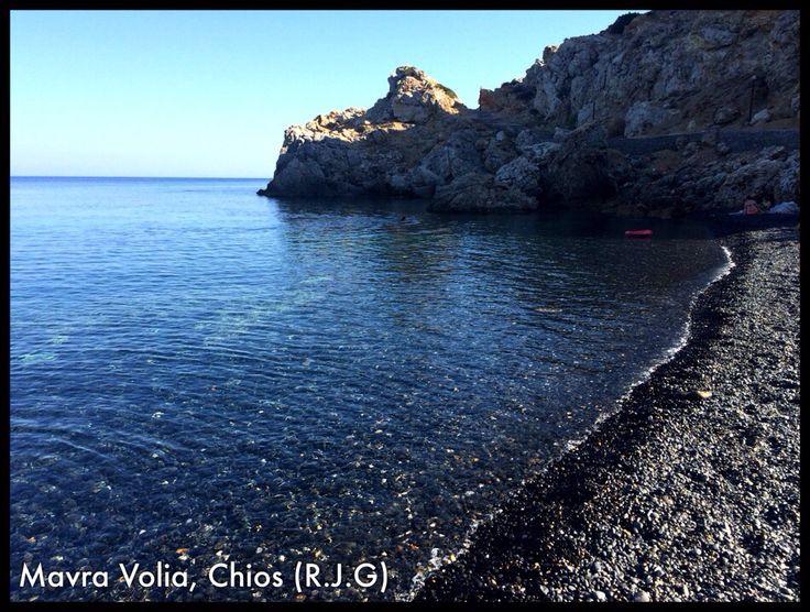 Mavra Volia, Chios