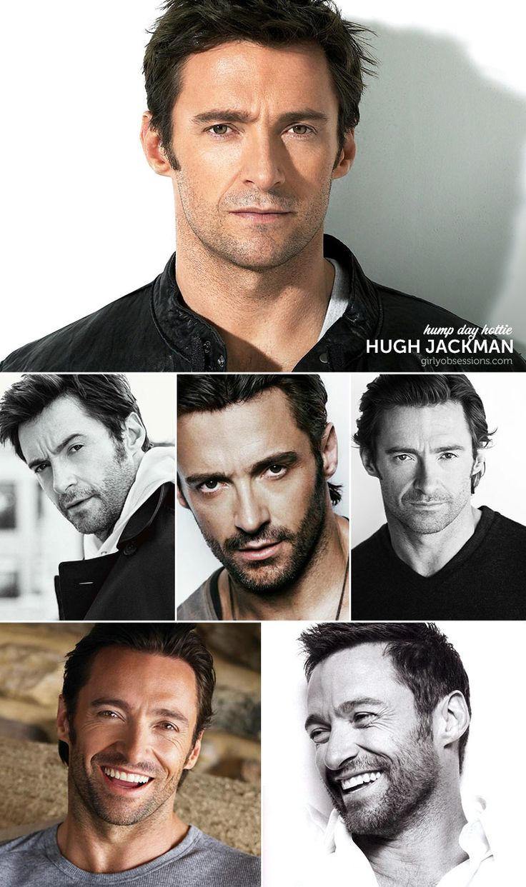 Hump Day Hottie: Hugh Jackman. #humpdayhottie #hughjackman #girlyobsessions #eyecandy