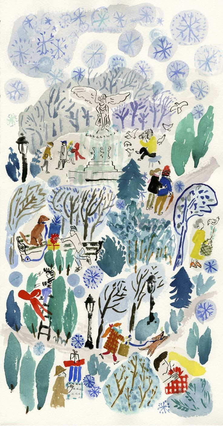 Bella Foster: Illustration for the Wall Street Journal: Soon to be a limited edition silkscreen print sold exclusively through www.waynepate.com.