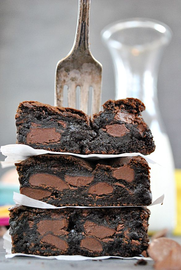 "Fudgey Chocolate Chunk Brownies (Something Swanky). ""I've been using this brownie recipe for about 6 years, and it's my go-to recipe. It's simplicity makes it ideal for creating variations."""