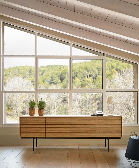 Schön Modernes Lamellem Sideboard Sussex Von Punt Auf Füßen. #inspiration  #interiordesign #furniture #