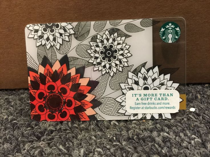 Starbucks USA 2015 Mothers Day Greeting Gift Card Limited Edition No Value | eBay