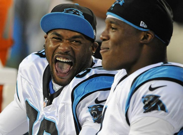 From Carolina Panthers Cam And Steve Enjoying The Game