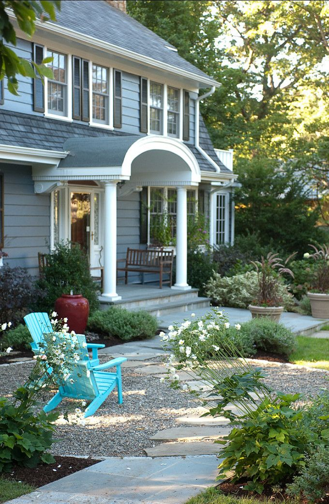 They really nailed this landscape  for a front yard to sit in   observe. Best 25  Front Porch Landscape ideas on Pinterest   Front