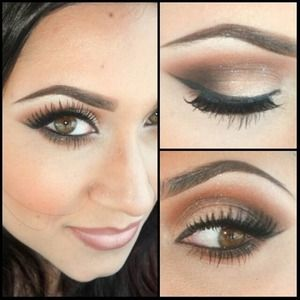 Not listed: Jet Couture Pressed Pigment and Elegant Lashes #015 Follow me on instagram: madeup_mama