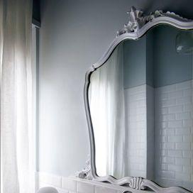 riutilizzare vecchio specchio del comò nonna