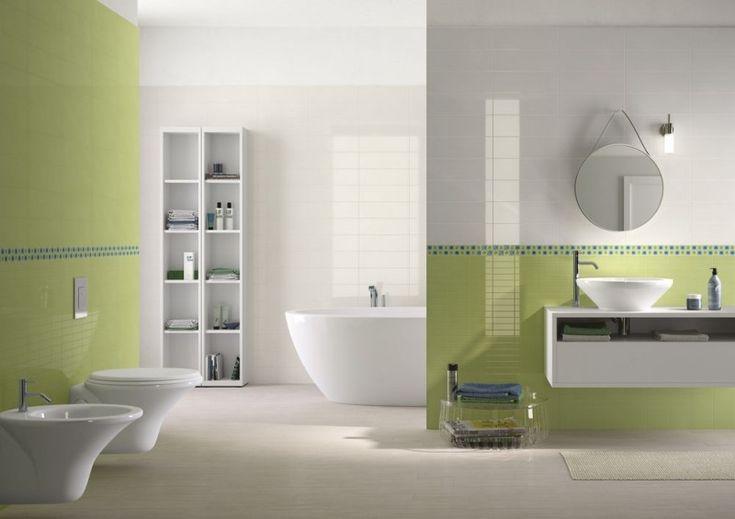 Galleria foto - Piastrelle colorate per bagni moderni Foto 34