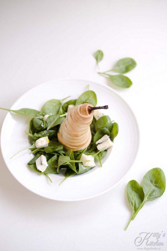 insalata di pere e gorgonzola_Kitty's Kitchen