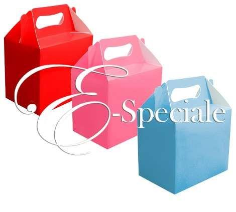 Scatola Regalo - Gable - Prodotti per Battesimo / Baby Shower - Addobbi Ricevimento - Accessori Tavolo Bambini - accessori e gadget per matrimoni e feste - E-speciale