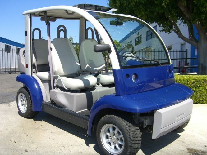 Ford Think Neighbor : Blue 4 Seater | Golf Cart : LSV Carts