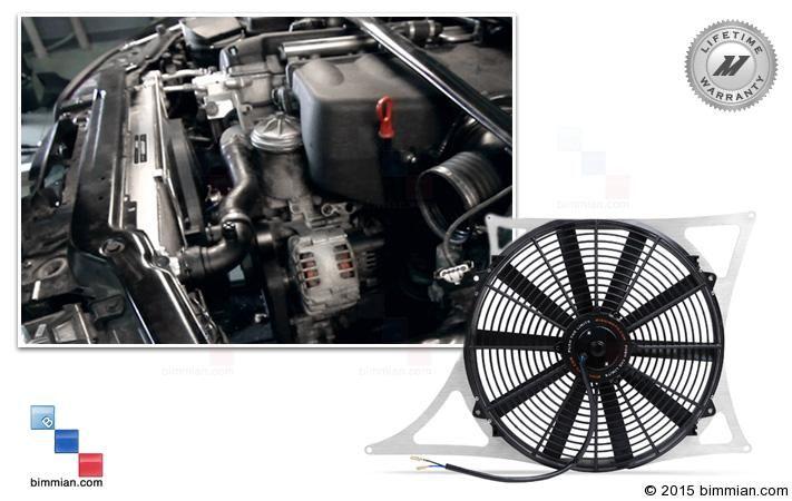 -  - Mishimoto Aluminum Fan Shroud Kit  - Photo #1