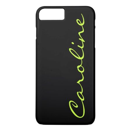 Modern Casual Monogram Personalized iPhone 7 Plus Case - tap to personalize and get yours
