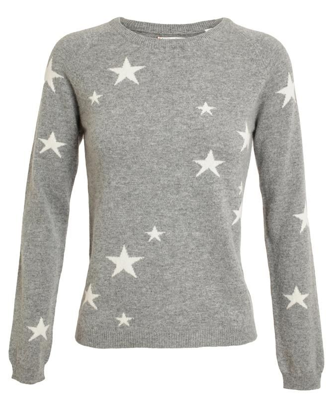 CHINTI AND PARKER | Star Patterned Cashmere Jumper  http://www.stockholmmarket.com