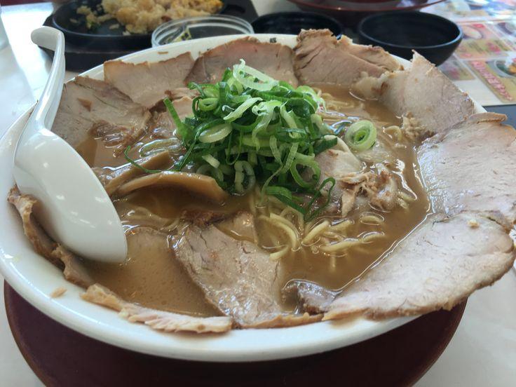 チャーシュウ麺 @横綱ラーメン 高井田てん