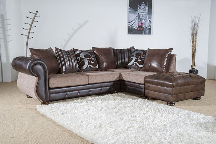 A contemporary finish with button stitch detailing gives this sofa a touch of luxury and easily adds understated style to any living space. The Rio sofa is available as a corner suite in various colour fabrics for just £599.   Tel: 07446824535 (Mon-Sun 9am to 9pm) Tel: 0161 620 6517 (Mon-Fri 9am to 6pm)