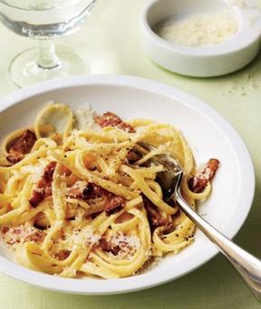 pasta carbonara: Dinner, Pasta Carbonara, Easy, Pasta Recipes, Food