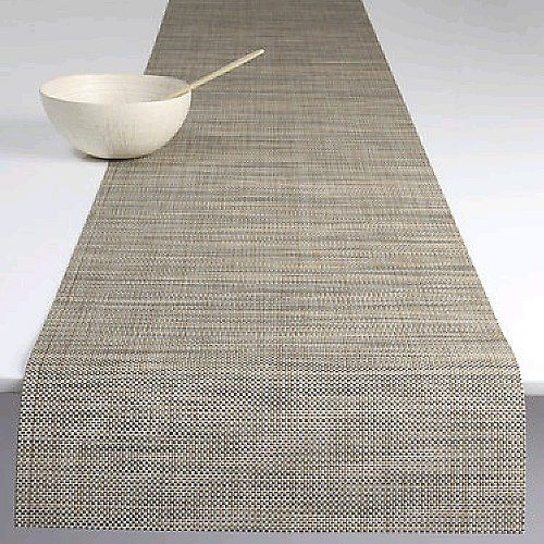 Mini Basketweave Table Runner by Chilewich at Lumens.com