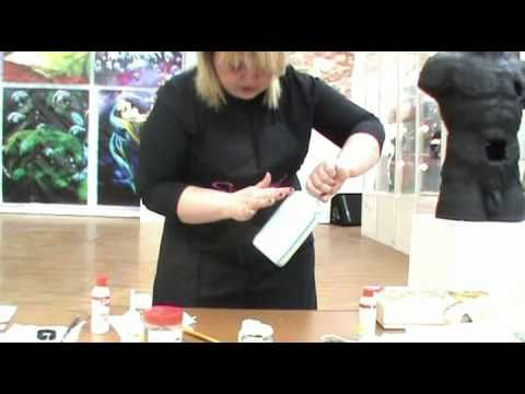 Мастер-класс Пуконцева Наталья Декупаж 6.mp4 - YouTube