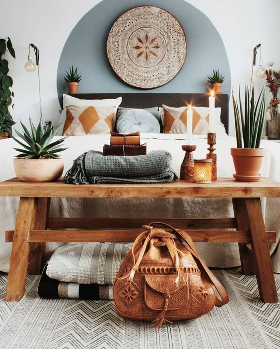 7 Bohemian interiors for a darling spring (Daily Dream Decor)