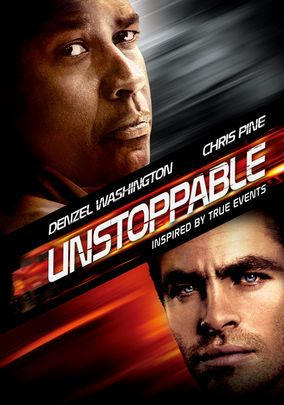 UNSTOPPABLE (2010) - It's a nail-biting race against time as an unmanned train carrying a load of lethal chemicals speeds out of control, and a conductor and engineer do everything in their power to keep it from derailing and killing tens of thousands of people. Denzel Washington leads the cast in Tony Scott's tough-minded action thriller, in which a terrible circumstance forces a couple of ordinary men to become extraordinary heroes.