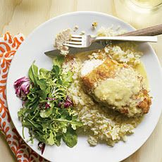 Macadamia Chicken with Orange-Ginger Sauce and Coconut Pilaf | Chicken ...