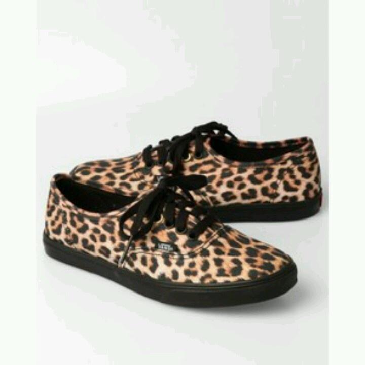 leopard vans shoes