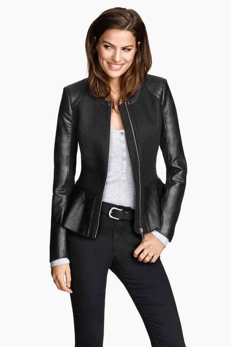 Le 1001 proposte di stile di H&M primavera estate 2015 HM giacca peplum 39.99 euro