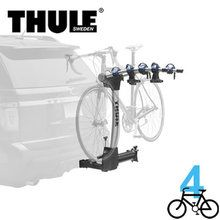 The ultra premimumThule 9027 - Apex Swing - 4 Bike Rack - For 2 Inch Hitchcombines great looks with secure bicycle transport and convenient rear vehicle access. The unique arc design of the mast and