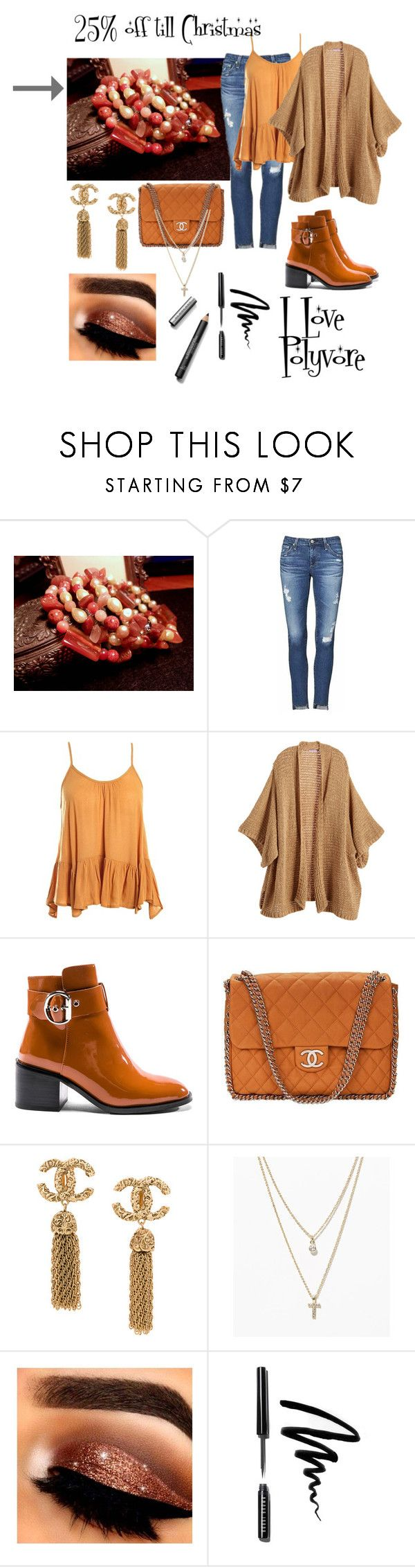 """""""Beaded Memory Wrap Bracelet-Red Agate-Carnelian-MOP-Gemstone-Bohemian-Cuff Bracelet-Agate Wrap Bracelet-Fresh Water Pearls Bracelet"""" by bamasbabes on Polyvore featuring AG Adriano Goldschmied, Sans Souci, Calypso St. Barth, Jeffrey Campbell, Chanel, LOFT, Bobbi Brown Cosmetics, Burberry, Christmas and jewelry"""