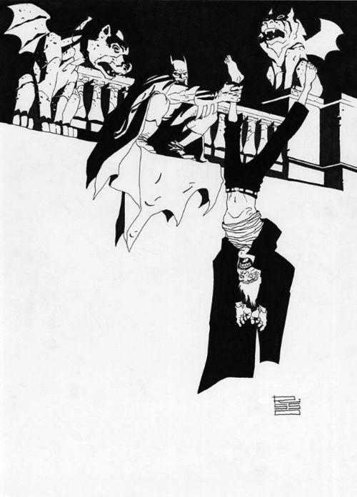 Batman and the Joker by Eduardo Risso. If only Risso drew every Batman book.