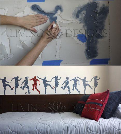 Solo pintas con cualquier pintura comercial para paredes y listo!