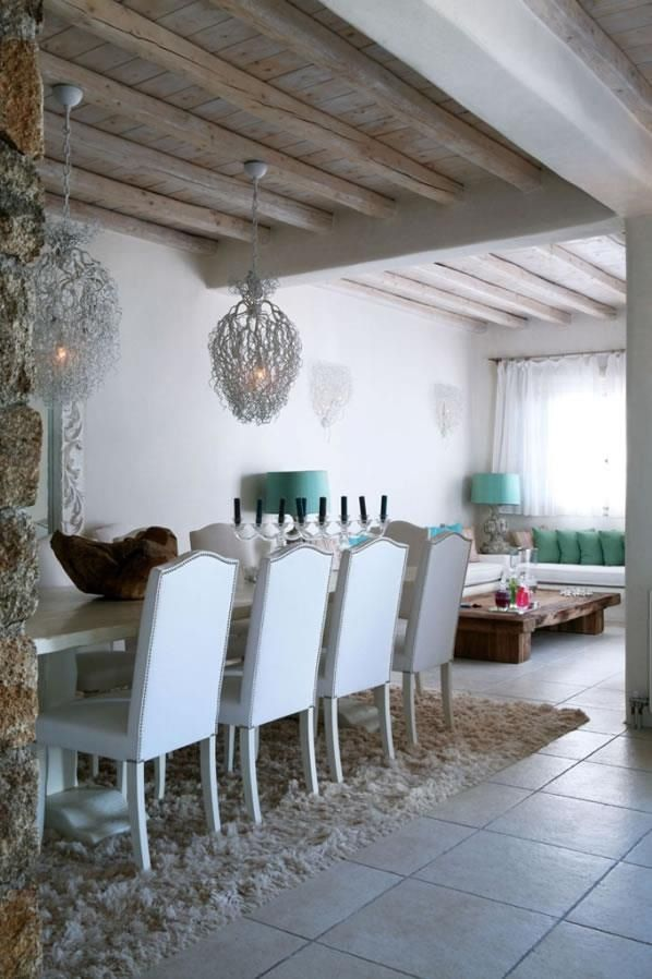 Superb Beautiful Chandeliers In Mykonos Home Via House Of Turquoise U0026 Cape Cod  Designs