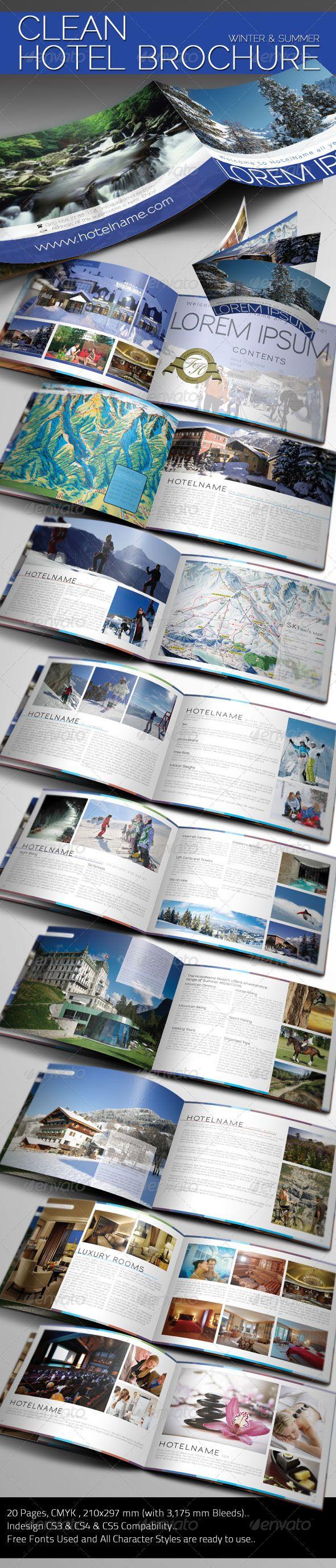 Clean Hotel Brochure - Corporate Brochures