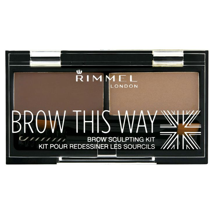 Buy Rimmel Brow This Way Eyebrow Kit - Medium Brown , luxury skincare, hair care, makeup and beauty products at Lookfantastic.com with Free Delivery.