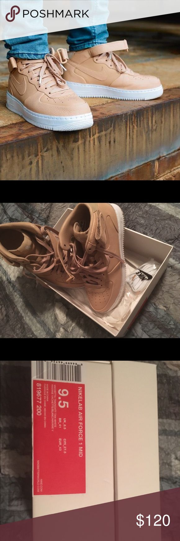 Nike Lab Vachetta Tan