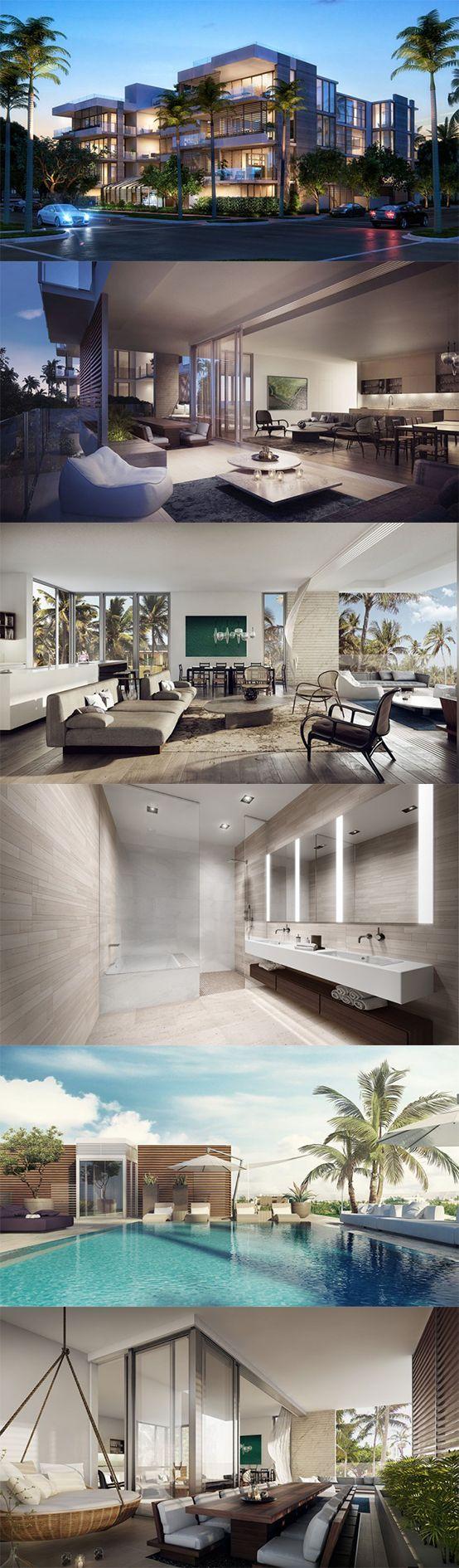 Casa  moderna estilo MIAMI
